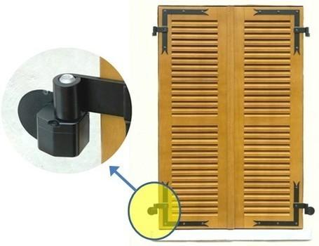 gond motoris pour volet battant pour s. Black Bedroom Furniture Sets. Home Design Ideas
