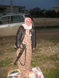 Portrait of a Lady: A Female Syrian Rebel | A Voice of Our Own | Scoop.it