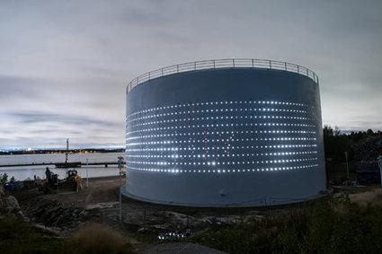 Urban Redevelopment & SILO 468: interactive light art at a reused silo in Helsinki | scatol8® | Scoop.it