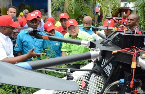 Drones over the Caribbean | Organic Farming | Scoop.it