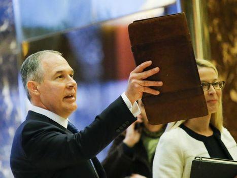 Bientôt un climatosceptique à la tête de l'Agence de protection de l'environnement ? | Florilège | Scoop.it