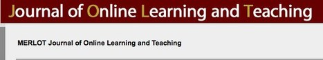 JOLT - Journal of Online Learning and Teaching - MOOCs | Technology for Teaching and Learning | Scoop.it