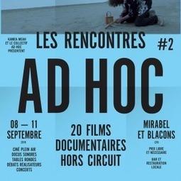 Les Rencontres Ad Hoc consacrent le documentaire «hors circuit»dans la Drôme - Le Blog documentaire | Web et Documentaire | Scoop.it