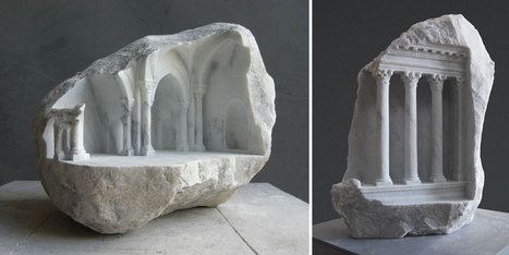 Sculptor Carves Realistic Architectural Sculptures Into  Marble And Stone   16s3d: Bestioles, opinions & pétitions   Scoop.it