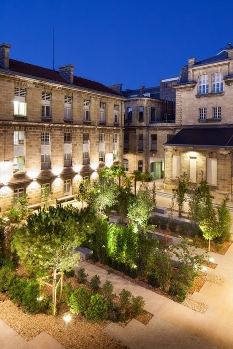 Leyteire Square, Bordeaux University: Creating an engaging urban space for the campus + community | green streets | Scoop.it