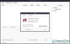 ShanaEncoder : un logiciel open source basé sur FFmpeg | Freewares | Scoop.it