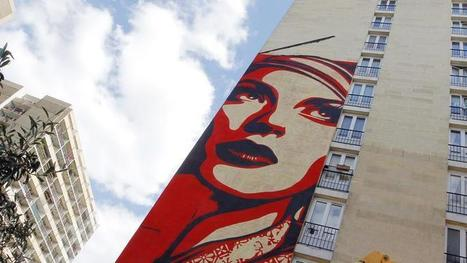 La belle histoire d'amour entre le street art et le XIIIe arrondissement de Paris | Looks - Photography - Images & Visual Languages | Scoop.it