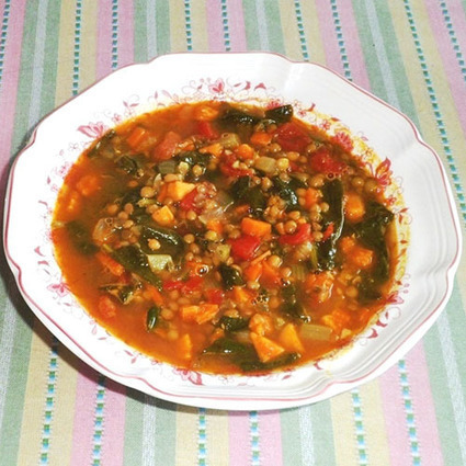 Hearty Lentil Soup | Food for Foodies | Scoop.it