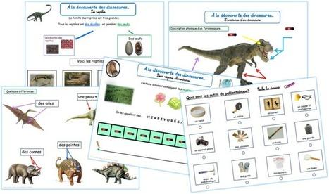 Les Dinosaures En Maternelle Spéciale