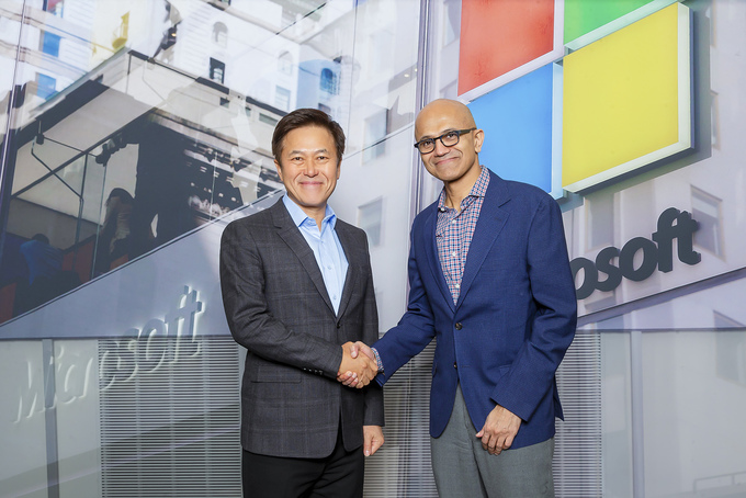SK Telecom and Microsoft team up on 5G, AI and Cloud