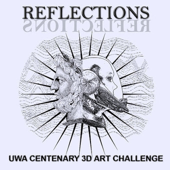 EFL Professor in SL: An educator looks at the UWA Centenary 3D Art Challenge: REFLECTIONS | Mundos Virtuales, Educacion Conectada y Aprendizaje de Lenguas | Scoop.it