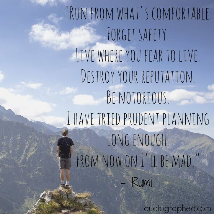 List Of Rumi Quotes On Quotographed Meditatio