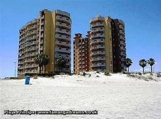 Playa Principe   La Manga Cheap Holiday Apartments In Spain