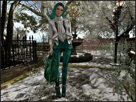 A World in a grain of sand: It's finally snowing... | Second LIfe Good Stuff | Scoop.it