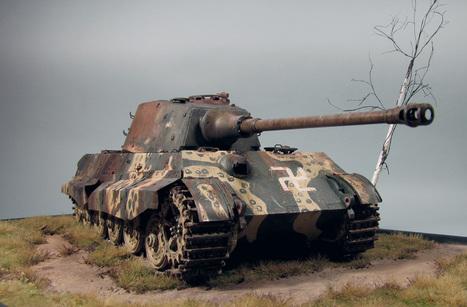 "Tiger Ausf.B sPzAbt 3./510-3./511 ""Octopus"" finish | Military Miniatures H.Q. | Scoop.it"