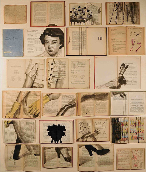Book Paintings by Ekaterina Panikanova | Colossal | For Art's Sake-1 | Scoop.it