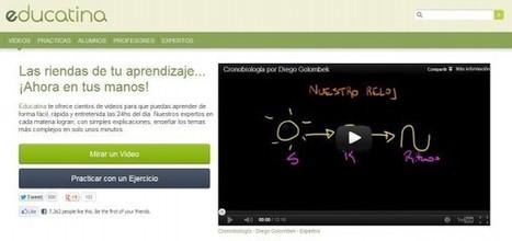 Educatina, vídeos educativos en español para el apoyo escolar | Recull diari | Scoop.it