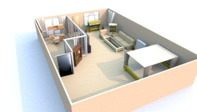 Interior design using sweet home 3d free for Sweet home 3d simple interior design