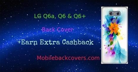 low priced 4605d 434e8 ₹165/- LG Q6a & Q6 Plus Back Cover Fl...