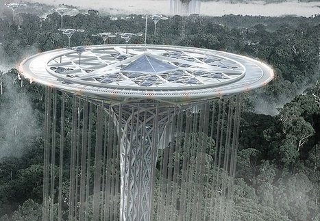 Rainforest Guardian: A Lotus-Shaped Concept Skyscraper | PROYECTO ESPACIOS | Scoop.it