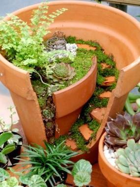 Ideas For Miniature Gardens how to make a magical fairy garden Mini Garden 1001 Gardens 1001 Gardens Ideas
