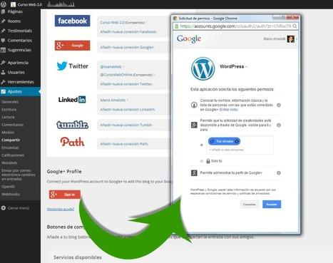 Conecta tu cuenta de Google +1 con tu Blog en WordPress.com | Recursos Web Gratis | Scoop.it