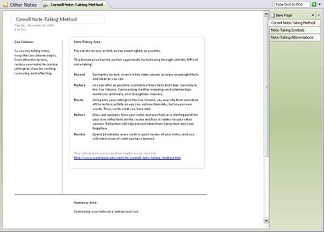 Cornell note-taking method - Templates - Office...