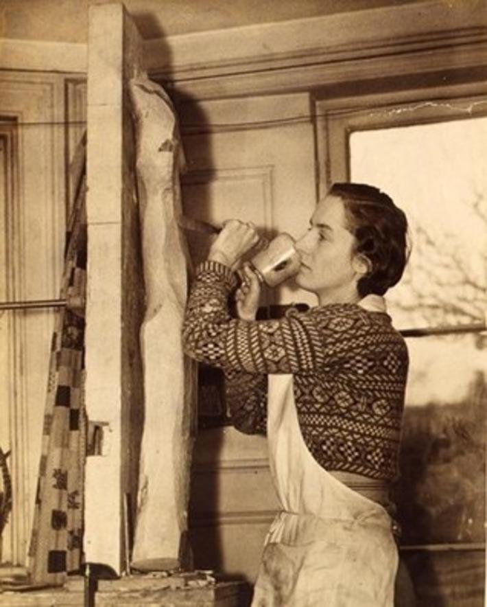 Wild Girl: The Artistic Rebellion of Gertrude Hermes | Herstory | Scoop.it