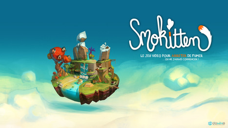 Campagne de crowdfunding pour Smokitten, le jeu vidéo pour arrêter de fumer | Innovating serious games | Scoop.it