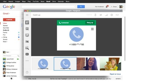 Official Gmail Blog: Making calls from Hangouts — in Gmail and across the web | Edtech 2 Go | Scoop.it