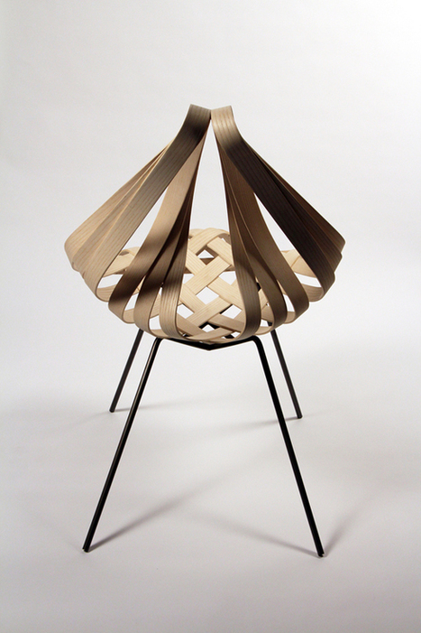 "Student Spotlight: Laura Kishimoto's Origami-Inspired Furniture Design - Core77 | ""Life Without Art Is Stupid"" 