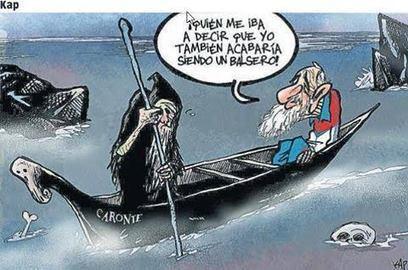 Fidel en la barca de Caronte | Mitología clásica | Scoop.it