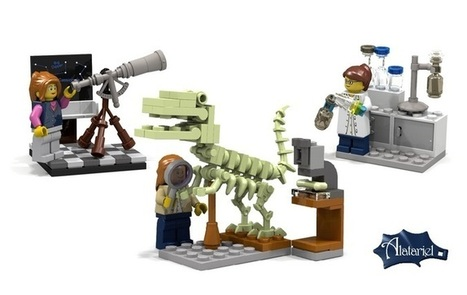 Lego mixes it up with female scientist mini-figure set | Smart Media | Scoop.it