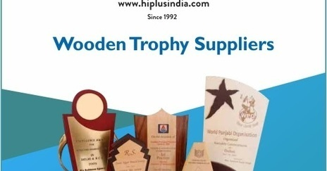 Wooden Trophy Manufacturers In Delhi
