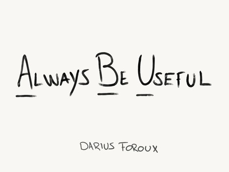 The Purpose Of Life Is Not Happiness: It's Usefulness - Darius Foroux | Innovatus | Scoop.it