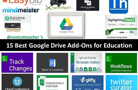 15 Best Google Drive Add-Ons for Education | learning by using iPads | Scoop.it