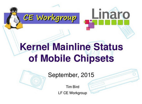 Linux Kernel Mainline Status of Mobile SoCs Pre