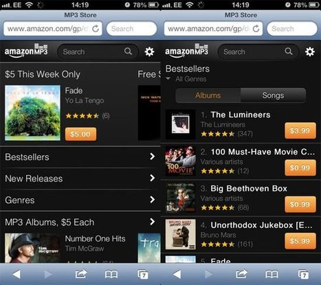 Amazon Launches MP3 Web Store For iPhone And iPod Touch | Geeky Gadgets | App Buzz | Scoop.it