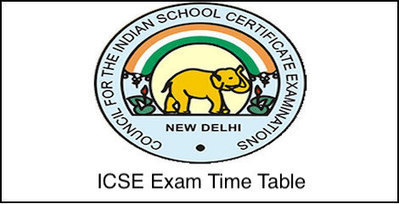 Icse Exam Time Table 2019 Pdf Download Icse 10
