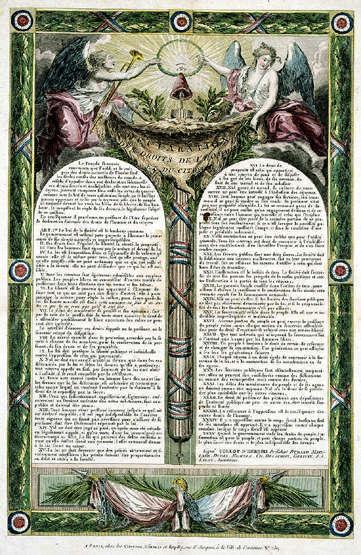 La Déclaration des droits de l'homme et du citoyen (10 août 1793) | Legis | Scoop.it