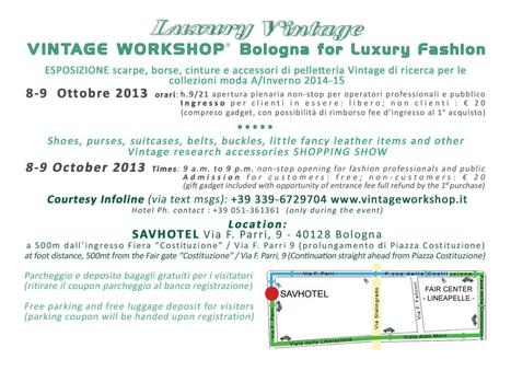Vintage top quality events in Italy   Only the EXTRAordinary   Scoop.it