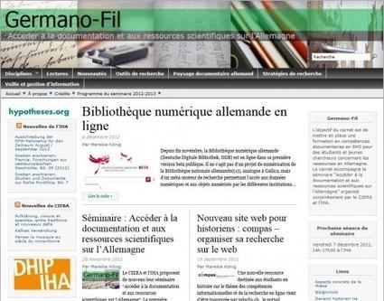 Germano-Fil : Timeline d'un projet documentaire devenu un blog | Faire de l'histoire 2.0 | Scoop.it