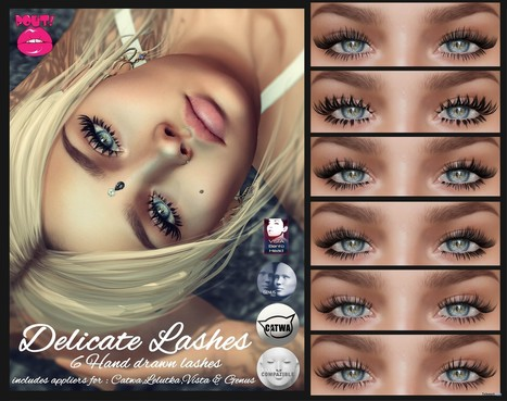 5f4aecaee67 Delicate Eyelashes November 2018 Group Gift by POUT!