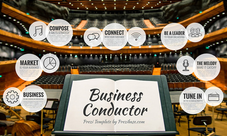 Business Conductor Prezi Template Prezibase
