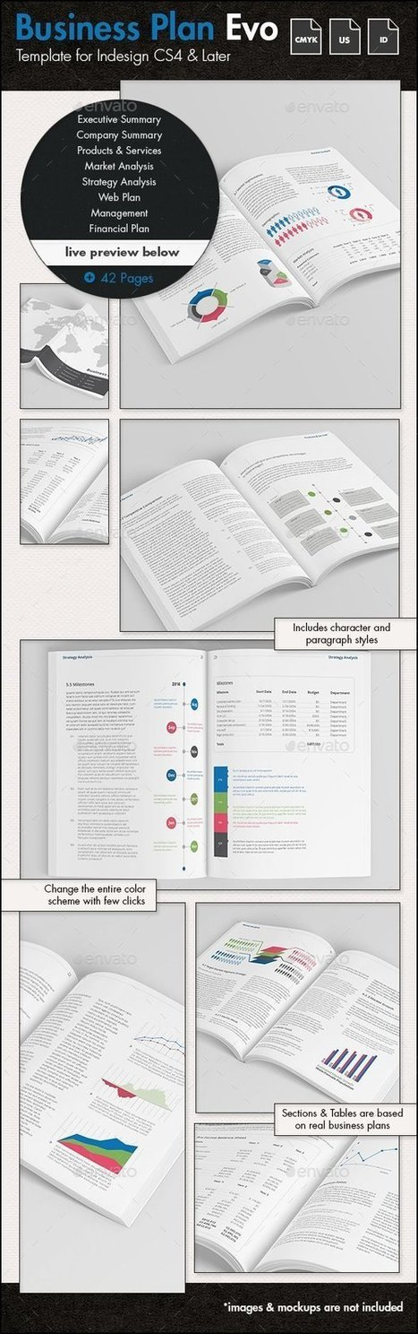 Business Plan Evolved - US Letter Template | About Design | Scoop.it