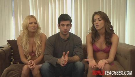 Girls teach how to have sex