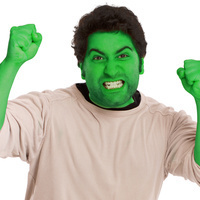 Man Angry After Hulk Makeup Refuses to Wash Off | It's Show Prep for Radio | Scoop.it