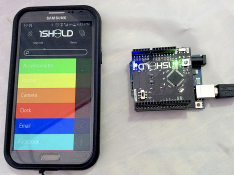 Arduino Prototyping with your Android Phone | Creative coding | Scoop.it