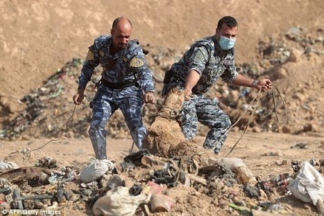 Children's toys and human skulls lie in shallow graves at scene of Mosul school execution where 100 civilians were beheaded | The Pulp Ark Gazette | Scoop.it