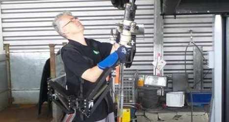 L'exosquelette qui démantèle les voitures s'appelle «Robomate» | Innovation et technologie | Scoop.it